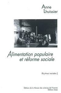 couverture de l'ouvrage 'alimentation populaire et réforme sociale'