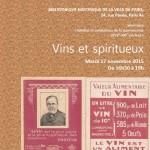 Vins et spiritueux - Séance 2 de la troisième saison du séminaire « Médias et médiations de la gastronomie XVIIe- XXIe siècles »